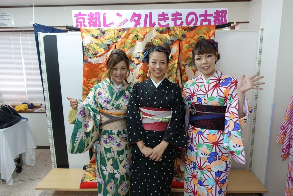 着物レンタルで京都グルメツアー❣2017年1月28日1