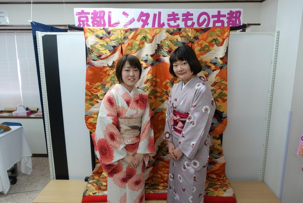 本日も着物レンタルで京都カフェ・スイーツ巡り♪2017年1月29日1