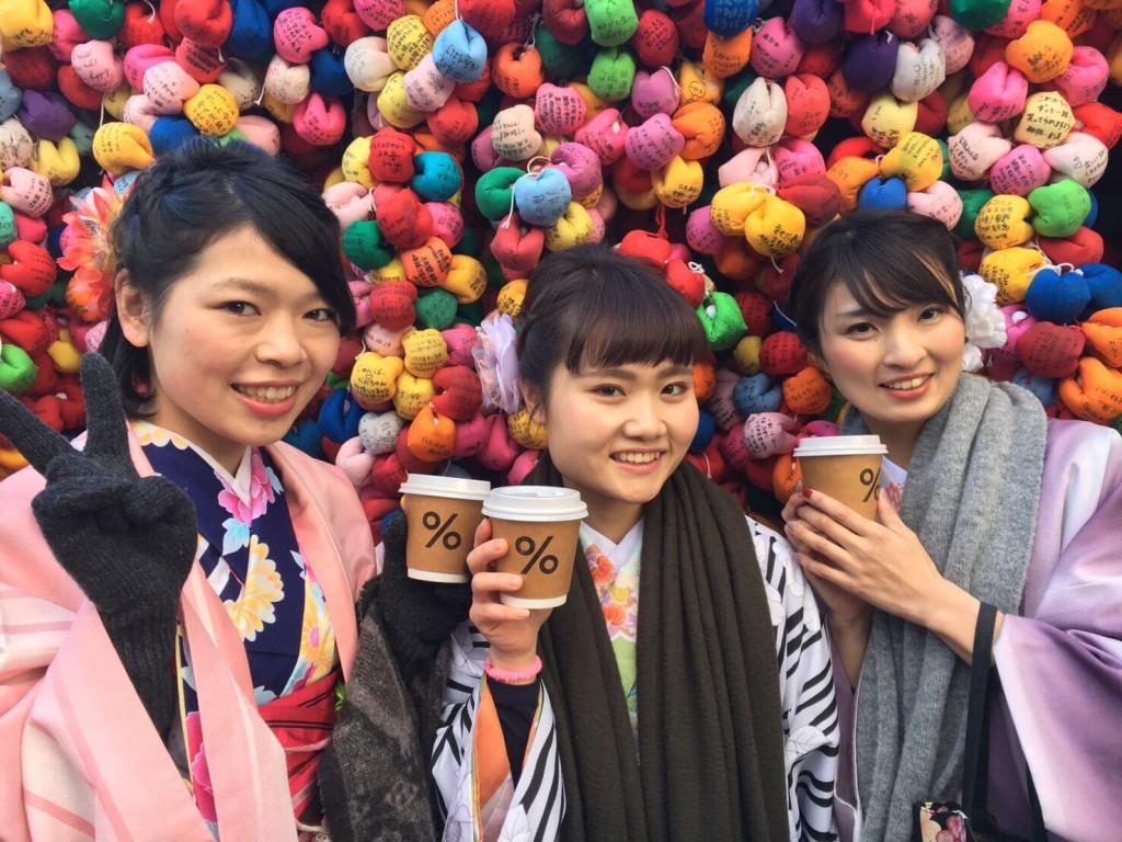伏見稲荷大社から八坂庚申堂でアラビカ珈琲2017年1月25日7