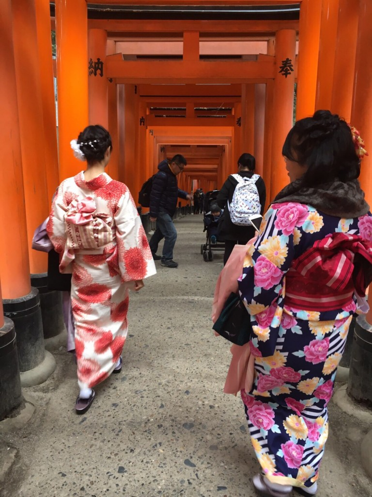 伏見稲荷大社から八坂庚申堂でアラビカ珈琲2017年1月25日5