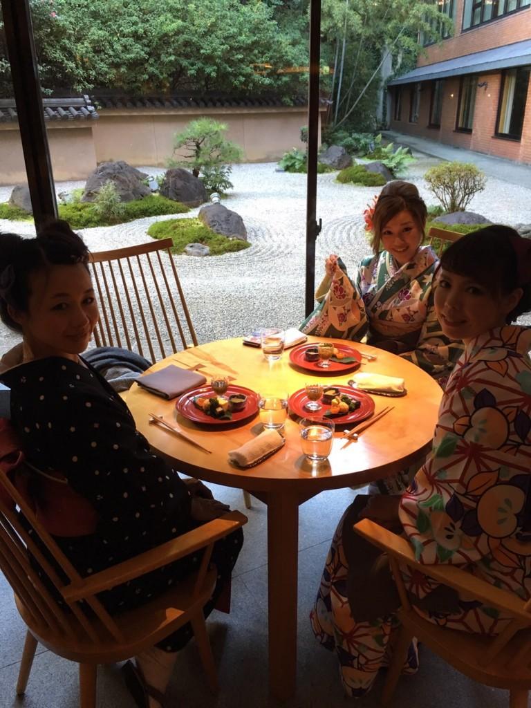 着物レンタルで京都グルメツアー❣2017年1月28日6