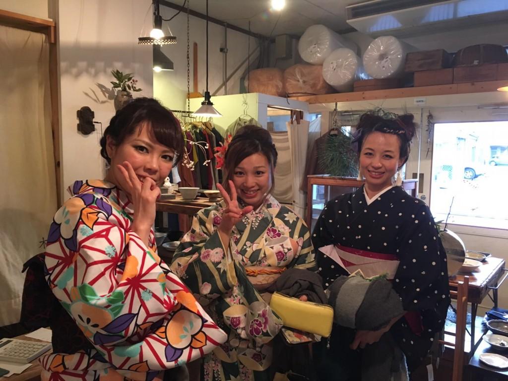 着物レンタルで京都グルメツアー❣2017年1月28日5