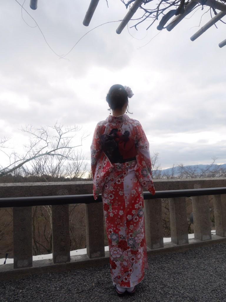 着物レンタルで冬の下鴨神社へ❢2017年1月31日23