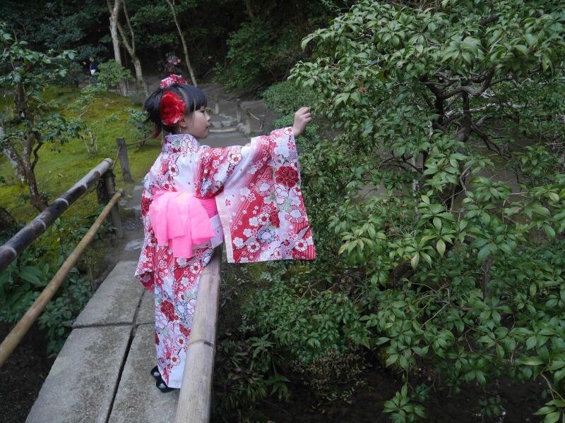 中国からのお客様❣着物レンタルで南禅寺へ♪2017年1月26日5