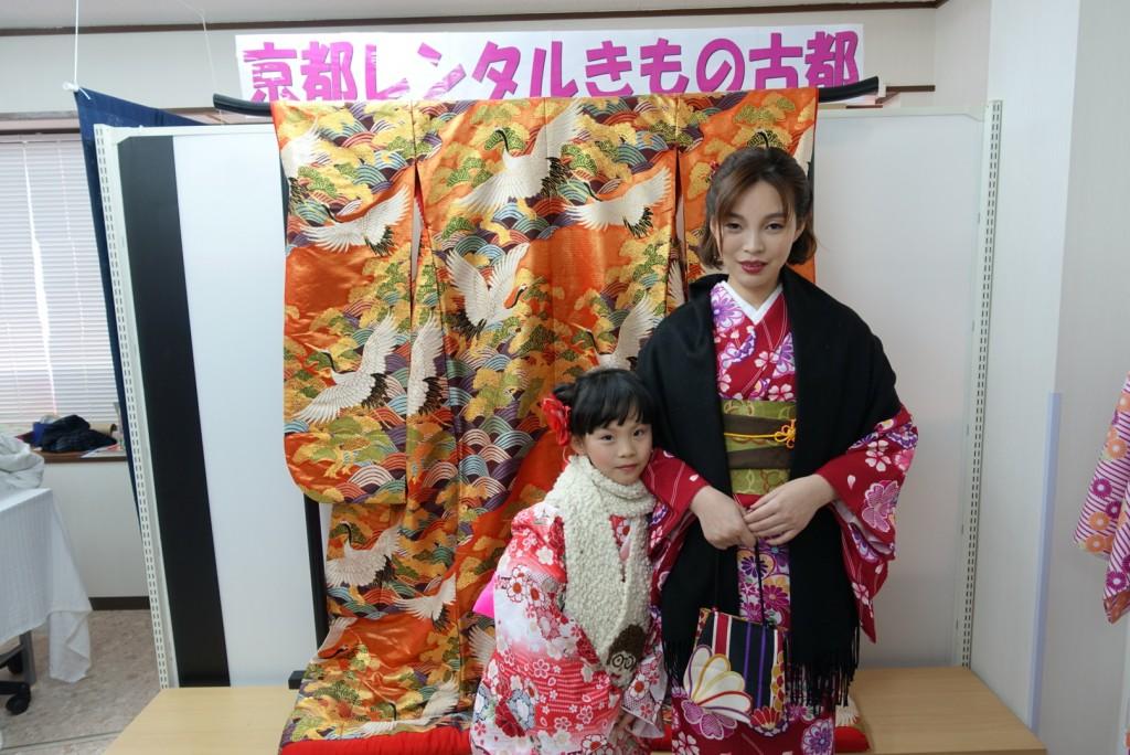 中国からのお客様❣着物レンタルで南禅寺へ♪2017年1月26日3