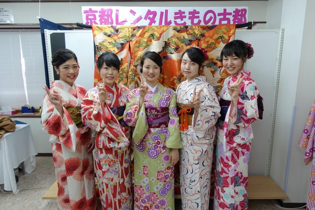 高校の時の同級生同士で八坂庚申堂へ❣2017年1月23日1