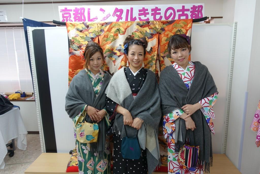 着物レンタルで京都グルメツアー❣2017年1月28日3