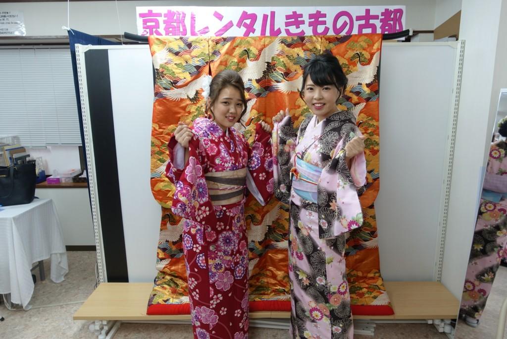 卒業旅行❣山形から京都で着物レンタル♪2017年2月23日5