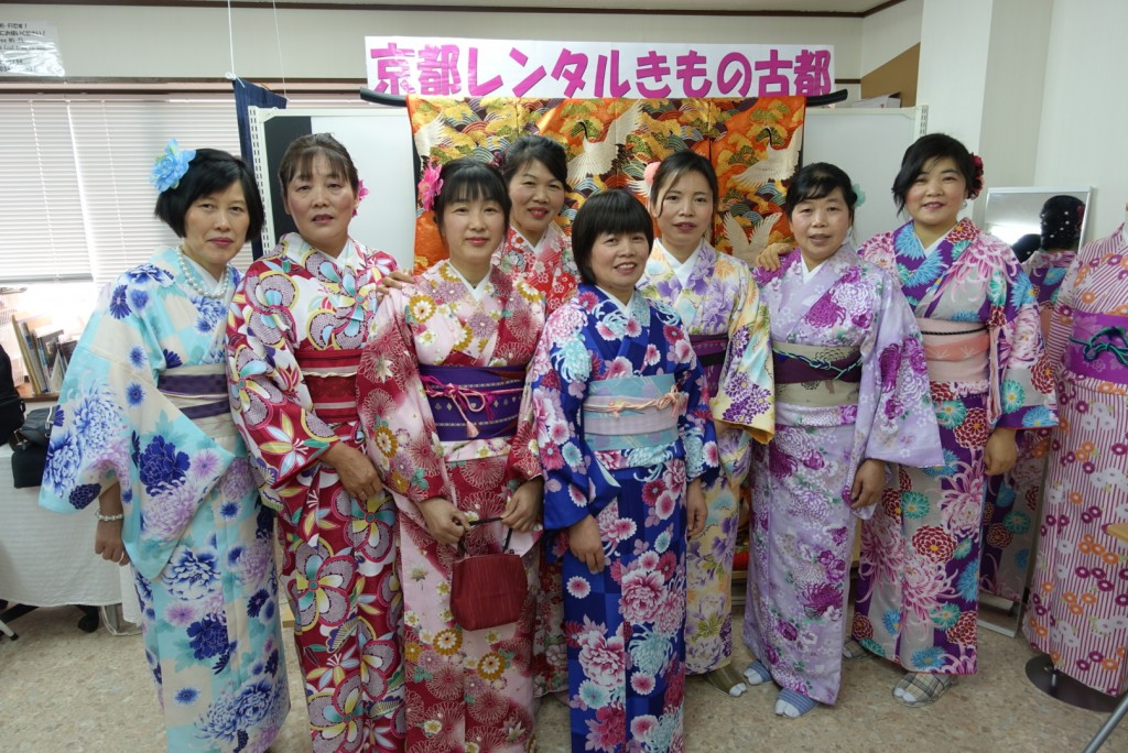 中国から日本の思い出に京都で着物レンタル♪2017年2月25日5