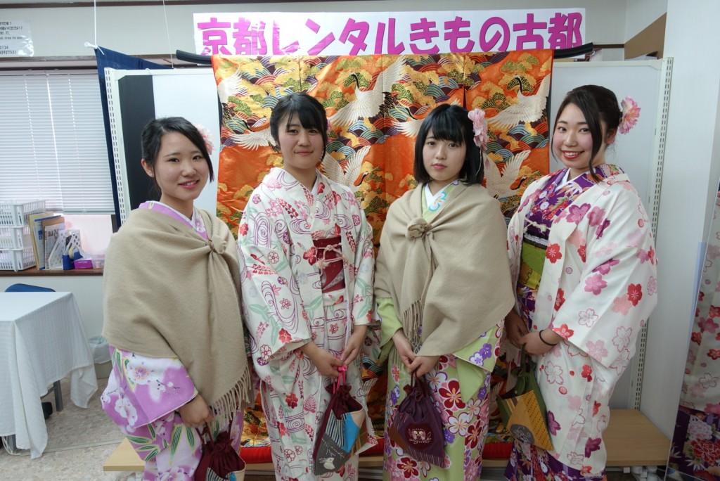 三年ぶりに皆で京都へ卒業旅行♪2017年2月27日21