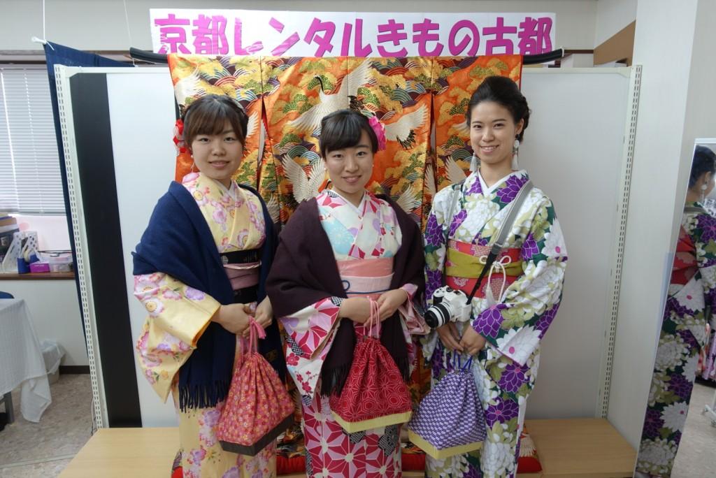 三年ぶりに皆で京都へ卒業旅行♪2017年2月27日3