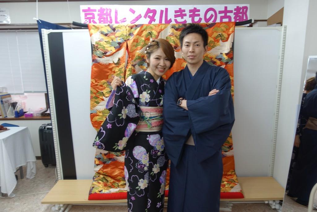 卒業旅行❣山形から京都で着物レンタル♪2017年2月23日2