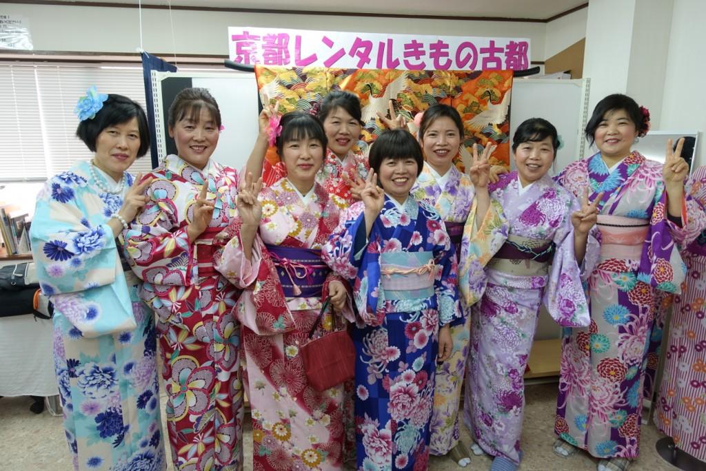 中国から日本の思い出に京都で着物レンタル♪2017年2月25日7