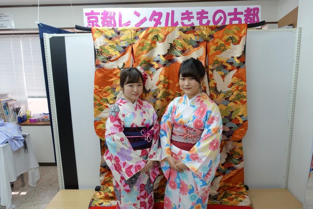 韓国からの留学生❣日本の学生と京都で思い出を❣2017年2月19日6