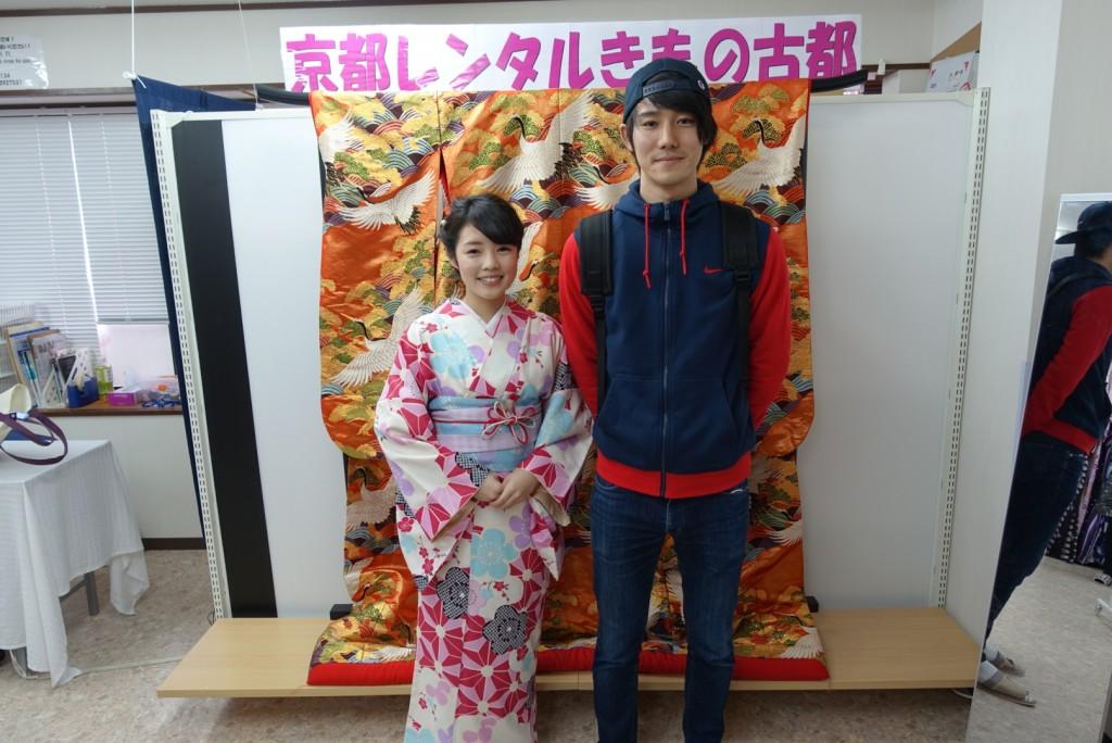 韓国からの留学生❣日本の学生と京都で思い出を❣2017年2月19日1