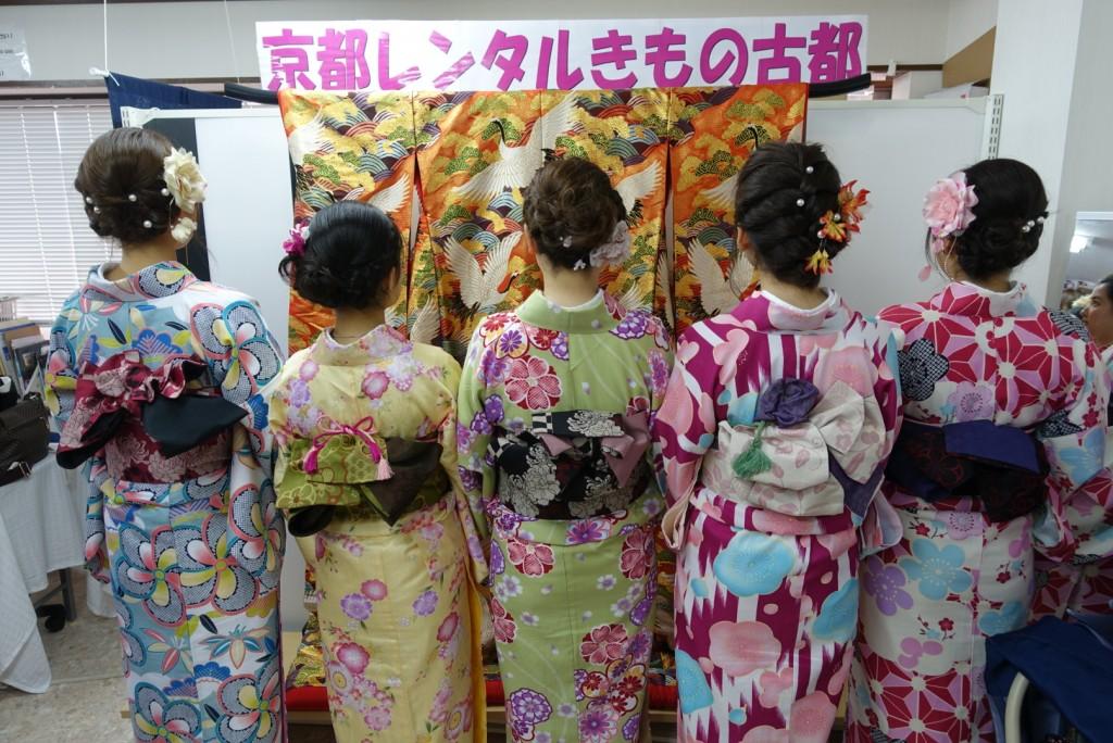 中国から日本の思い出に京都で着物レンタル♪2017年2月25日4