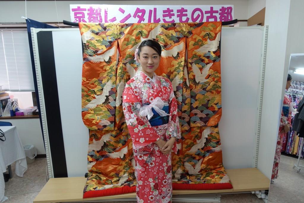 三年ぶりに皆で京都へ卒業旅行♪2017年2月27日7
