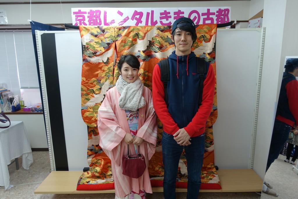 韓国からの留学生❣日本の学生と京都で思い出を❣2017年2月19日3