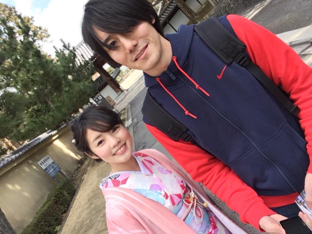 韓国からの留学生❣日本の学生と京都で思い出を❣2017年2月19日9