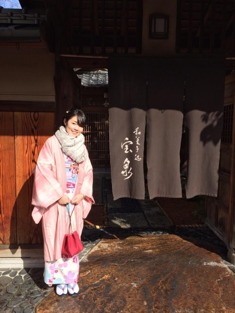 韓国からの留学生❣日本の学生と京都で思い出を❣2017年2月19日10