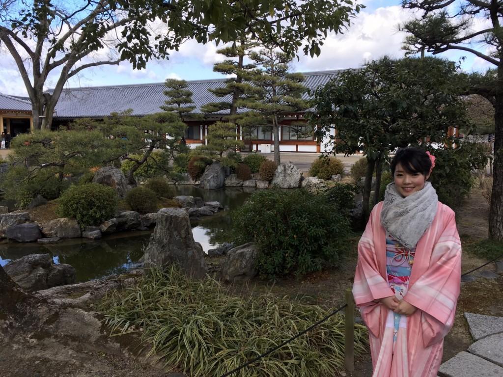韓国からの留学生❣日本の学生と京都で思い出を❣2017年2月19日11