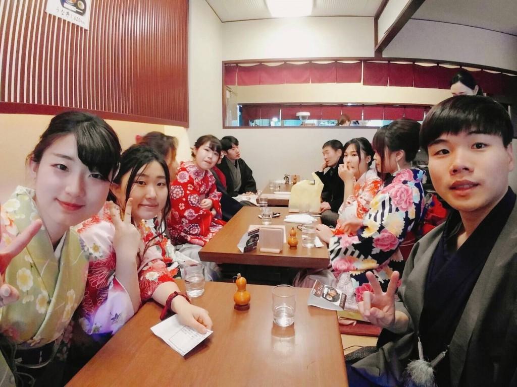 韓国からの留学生❣日本の学生と京都で思い出を❣2017年2月19日15
