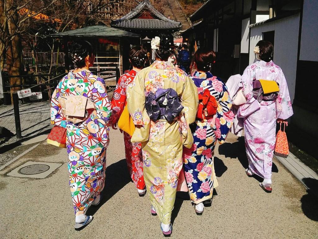 韓国からの留学生❣日本の学生と京都で思い出を❣2017年2月19日16