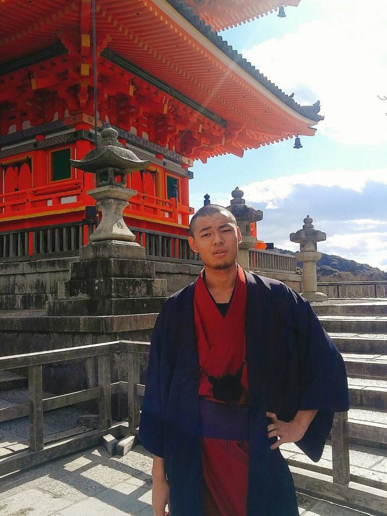 韓国からの留学生❣日本の学生と京都で思い出を❣2017年2月19日17