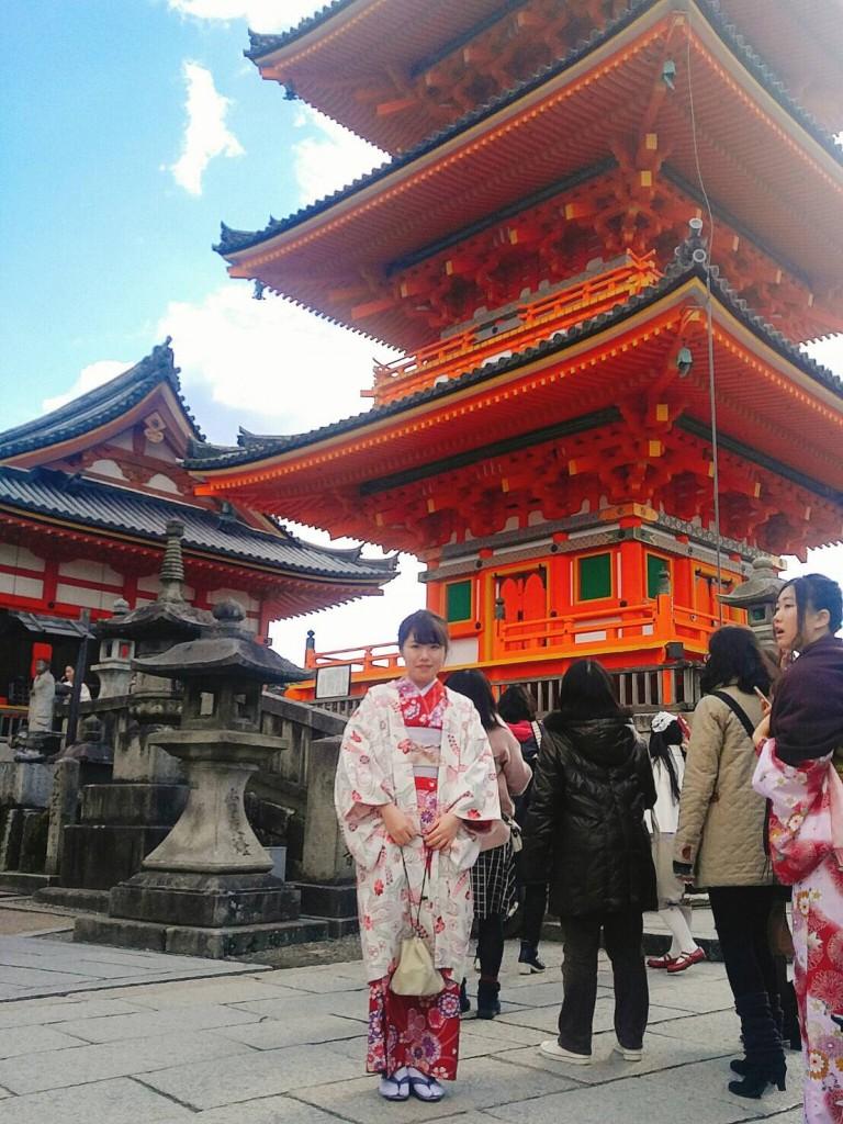 韓国からの留学生❣日本の学生と京都で思い出を❣2017年2月19日18