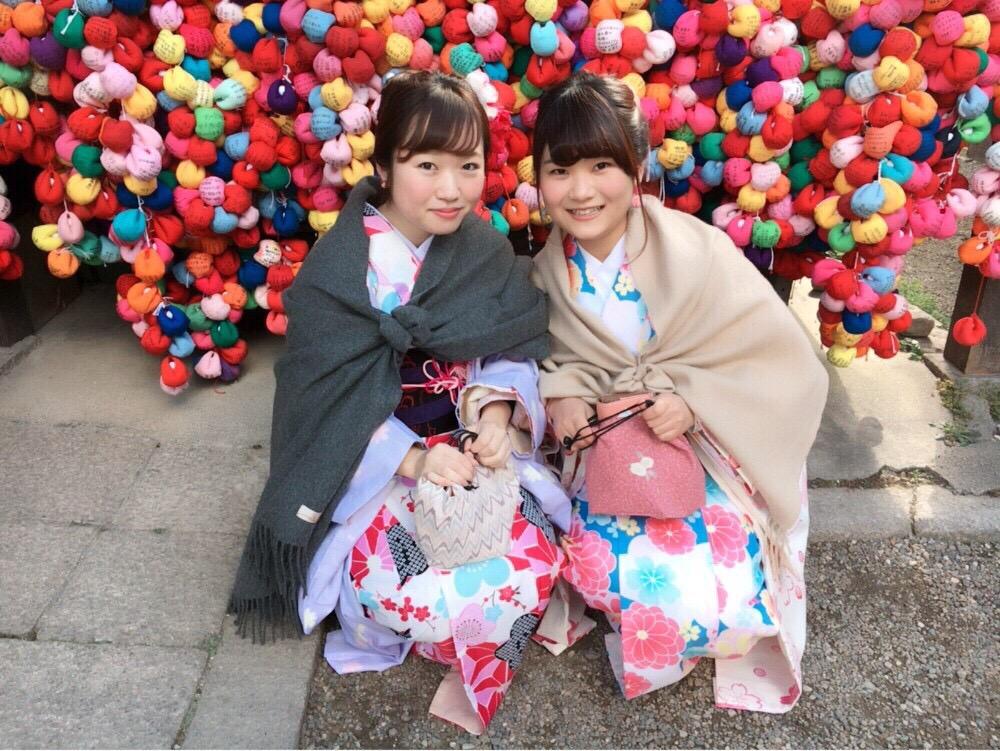 韓国からの留学生❣日本の学生と京都で思い出を❣2017年2月19日22