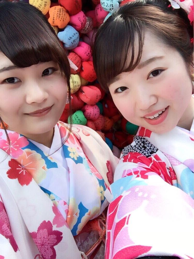 韓国からの留学生❣日本の学生と京都で思い出を❣2017年2月19日23