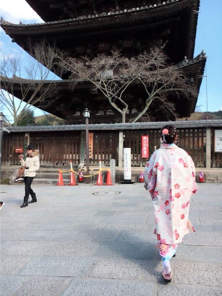 韓国からの留学生❣日本の学生と京都で思い出を❣2017年2月19日24