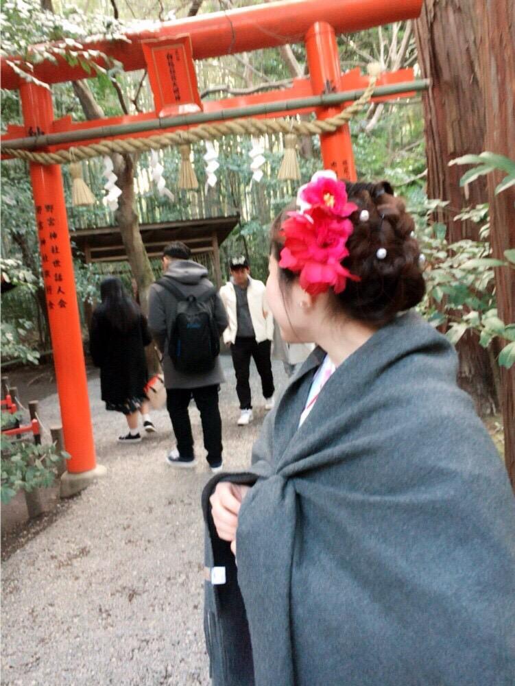 韓国からの留学生❣日本の学生と京都で思い出を❣2017年2月19日25