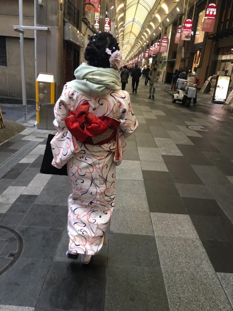 雨の京都 八坂庚申堂❣2017年2月20日8