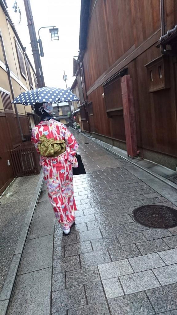 雨の京都 八坂庚申堂❣2017年2月20日9