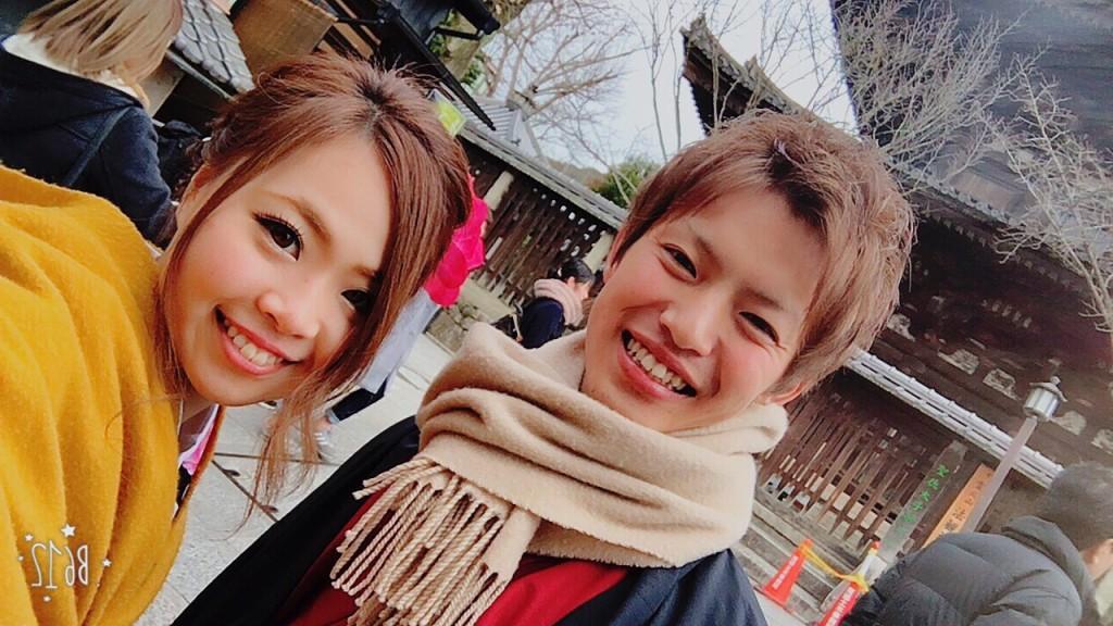 人気スポットは八坂庚申堂と伏見稲荷大社2017年2月21日26