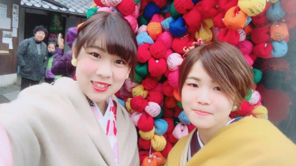 人気スポットは八坂庚申堂と伏見稲荷大社2017年2月21日27