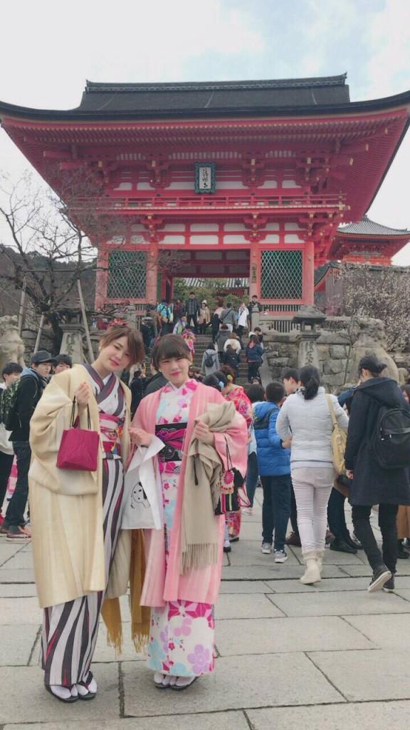 人気スポットは八坂庚申堂と伏見稲荷大社2017年2月21日29