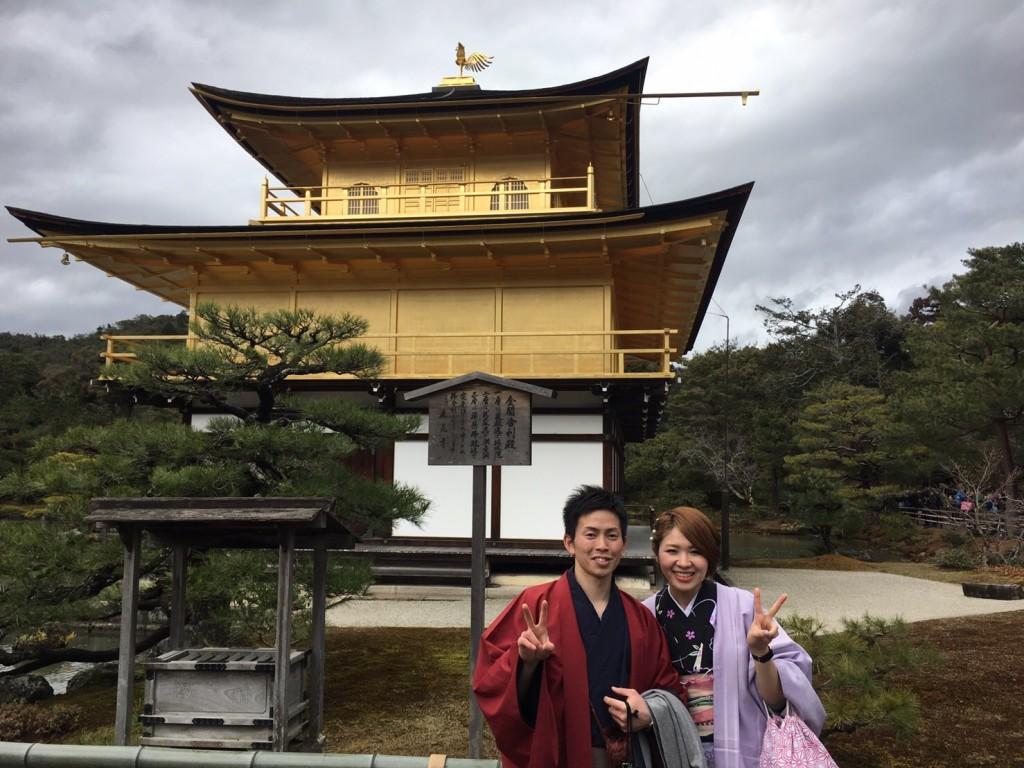 卒業旅行❣山形から京都で着物レンタル♪2017年2月23日13