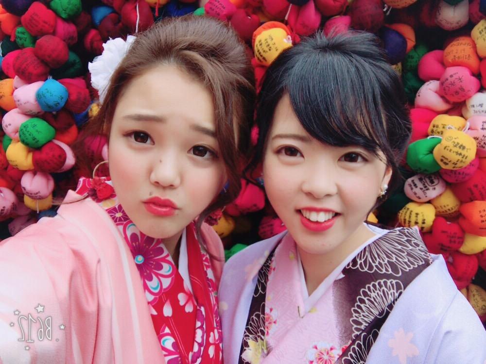 卒業旅行❣山形から京都で着物レンタル♪2017年2月23日17