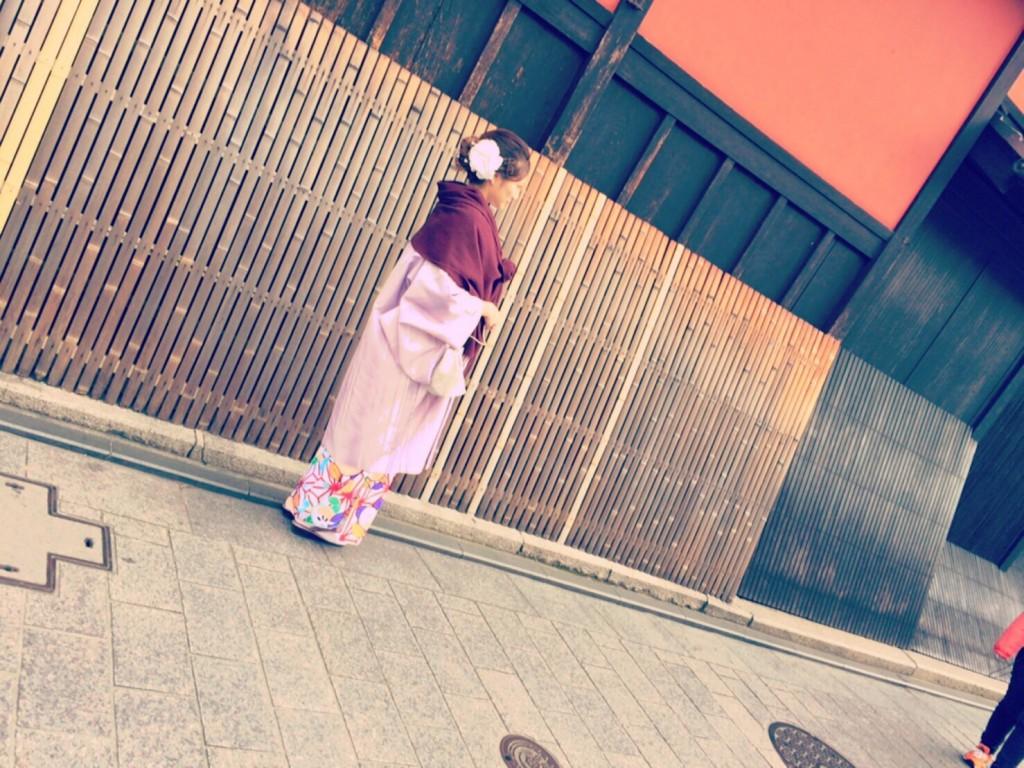 中国から日本の思い出に京都で着物レンタル♪2017年2月25日18