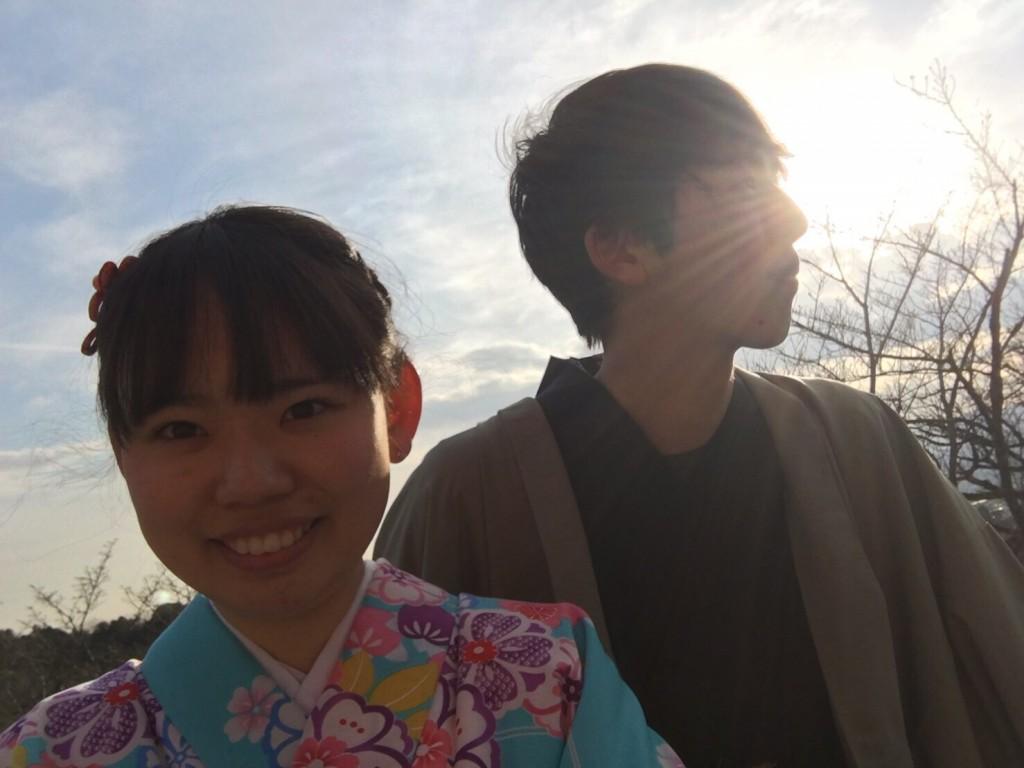 中国から日本の思い出に京都で着物レンタル♪2017年2月25日20