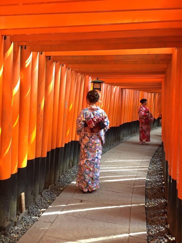 中国から日本の思い出に京都で着物レンタル♪2017年2月25日24