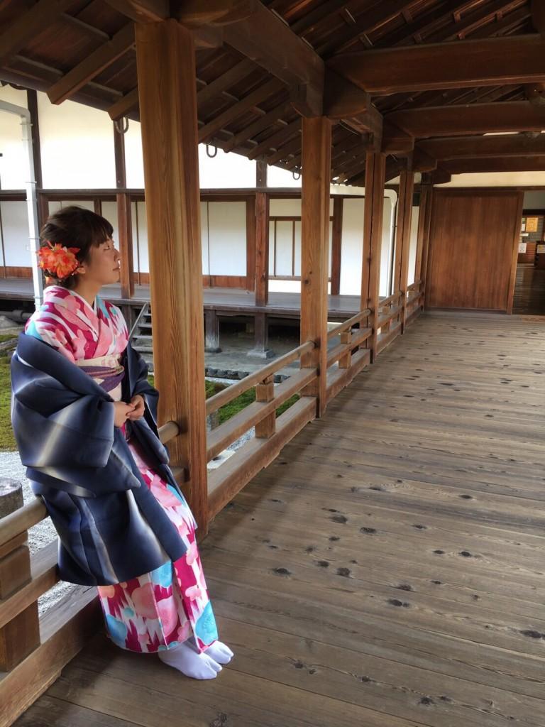 中国から日本の思い出に京都で着物レンタル♪2017年2月25日25