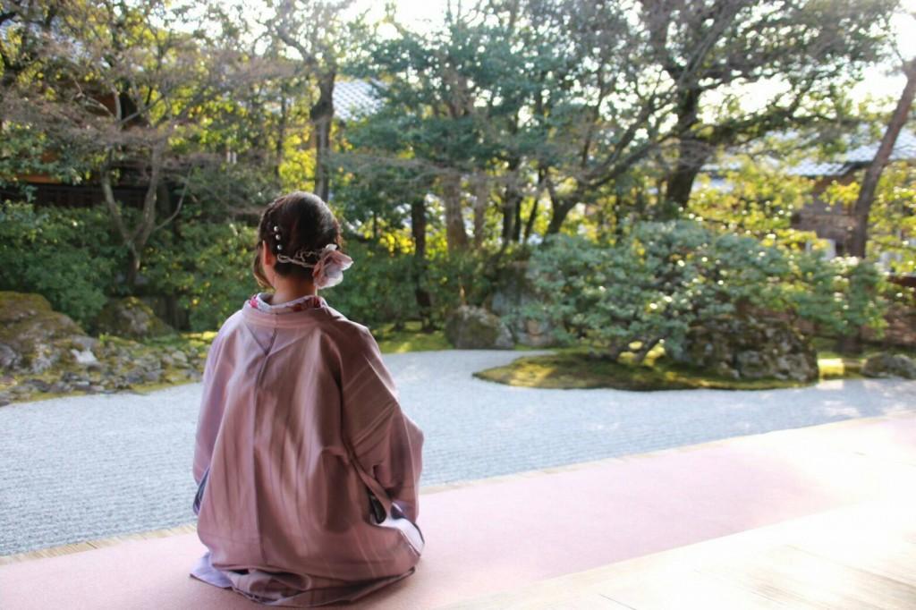 中国から日本の思い出に京都で着物レンタル♪2017年2月25日26