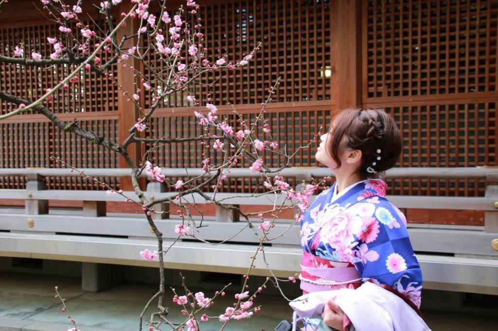 中国から日本の思い出に京都で着物レンタル♪2017年2月25日27
