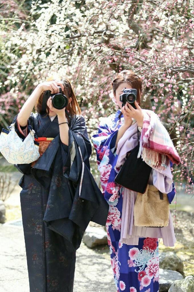 中国から日本の思い出に京都で着物レンタル♪2017年2月25日29