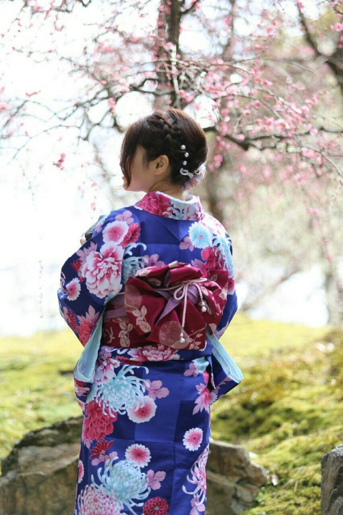中国から日本の思い出に京都で着物レンタル♪2017年2月25日30