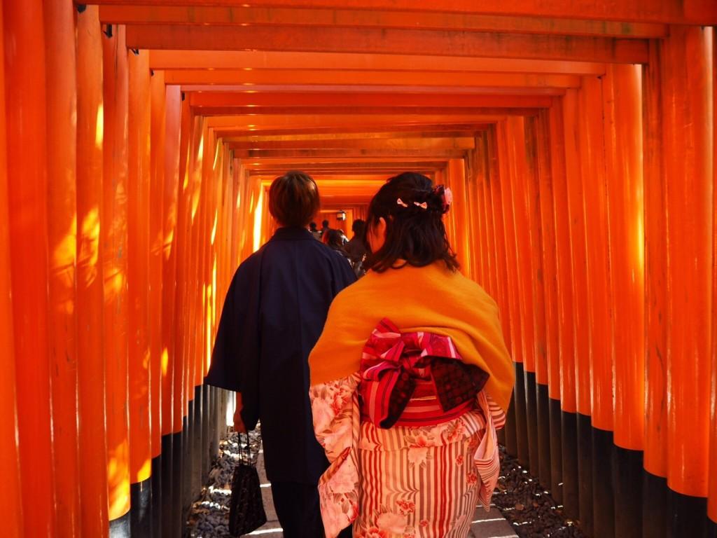 三年ぶりに皆で京都へ卒業旅行♪2017年2月27日22