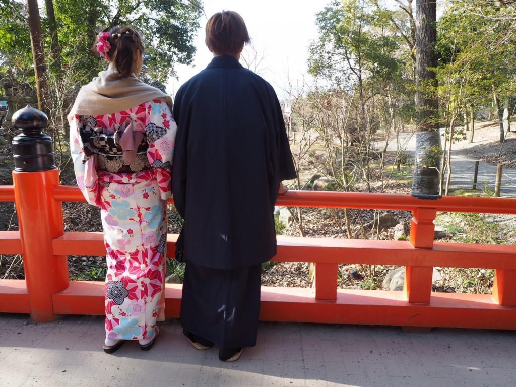 三年ぶりに皆で京都へ卒業旅行♪2017年2月27日23